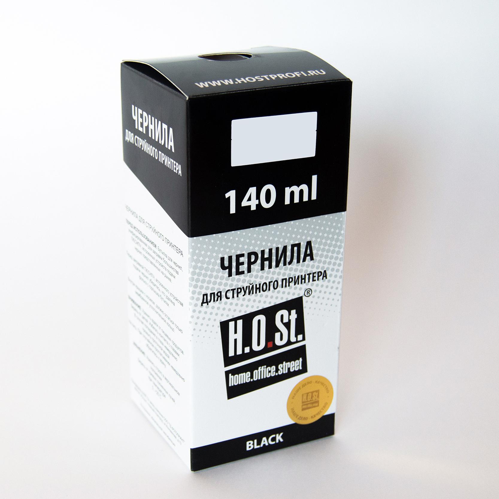 Чернила HOSt для HP 400 пигментные 140мл Black
