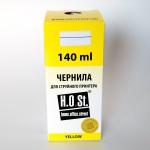 Чернила  HOSt для Epson L100 Yellow водные Премиум 140ml