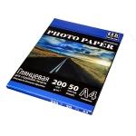 Фотобумага HOSt глянцевая одностороняя A4 200 г/м2 50 листов